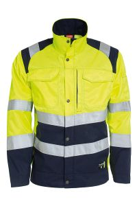 Jacket with fleece lining 9028, Color: 94 yellow/navy
