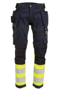 Ladies Craftsman trousers with stretch