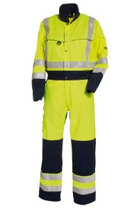 Boilersuit, Color: 94 yellow/navy