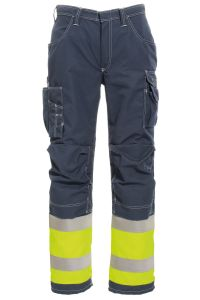 FR Trousers, Color: 94 yellow/navy