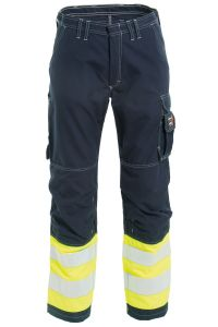Non-metal FR Ladies Trousers, Color: 94 yellow/navy